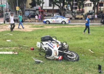 Traffic police officer dies after accident along Serangoon Road, driver arrested