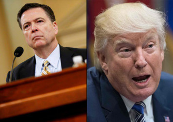 Comey's hearing highlights tumultuous ties between Trump and him