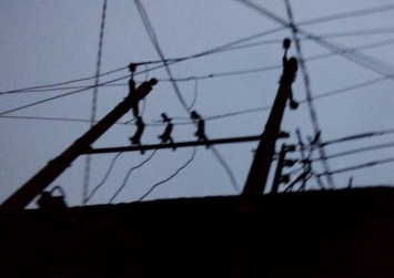 Mother, wife and daughter electrocuted to death after cable fell on house