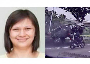 38-year-old mother dies shielding toddler son from impact after getting flung from car in SLE accident