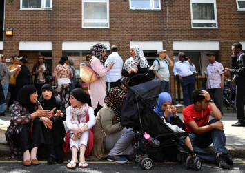 London shows love once again after Grenfell building fire tragedy