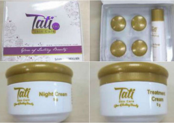 Warning: Tati skincare sold online has mercury exceeding limits by 20,000 times