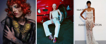 Not-so-regular looking models defy traditional standards of beauty