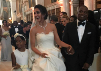 Richest black woman in the world throws lavish wedding for son