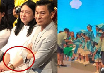 Andy Lau to be a dad again? Rumours intensify after couple's appearance at daughter's graduation