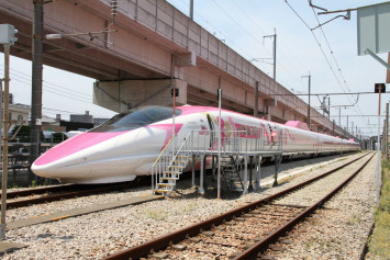 Hello Kitty bullet train debuts this week in Japan