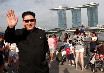 Kim Jong Un lookalike questioned in Singapore before summit