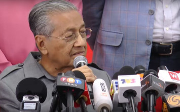 Decision to cancel HSR was Pakatan policy from 'the very beginning': Mahathir