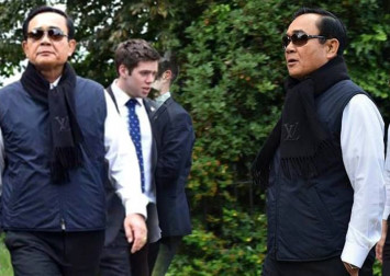 Louis Vuitton scarf in London lands Thai PM Prayut in the soup