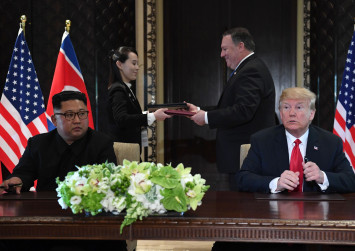 Trump, Kim sign agreement on denuclearization, security of North Korea