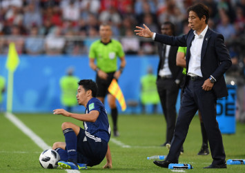 World Cup: Japan coach 'forced' to tell team to back off