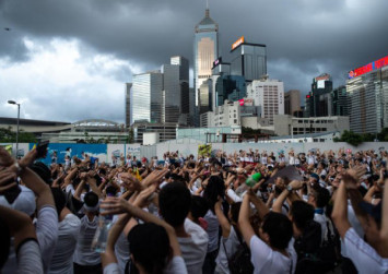 United by fear of China, Hong Kongers staged record march