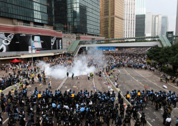 Hong Kong police facing legal challenge over 'Jesus' remark at extradition protest