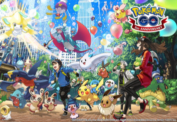 Pokémon Go celebrates third anniversary by encouraging new players to catch up