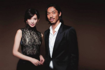 Taiwanese supermodel Lin Chi-ling marries Japanese boyband member Akira