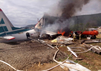 2 killed, 7 injured as Russian plane crash lands in Siberia