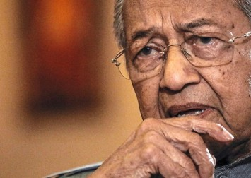 Is it the end of the road for Mahathir?