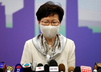 Hong Kong leader Carrie Lam says Beijing will not back down on new security law