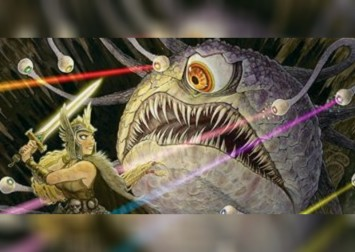 Magic: The Gathering - Hive of the Eye Tyrant (Adventures in the Forgotten Realms) card exclusive preview