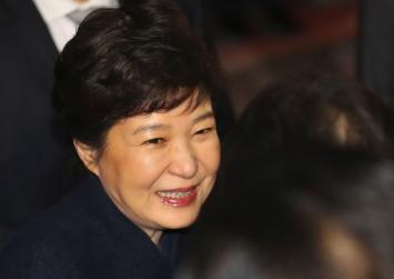 Park Geun-hye leaves Blue House, says 'truth will reveal itself'