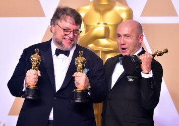 'The Shape of Water' makes a splash at Oscars