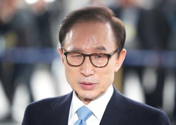 Ex-South Korean president Lee Myung-bak grilled on string of corruption allegations