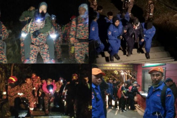 All 239 people on Mount Kinabalu evacuated safely