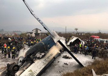 Bangladeshi passenger plane with 67 passengers crashes in Nepal