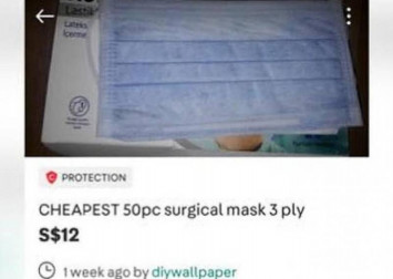 Buyers of 'cheap' masks on Carousell lose $122,000 to overseas scam