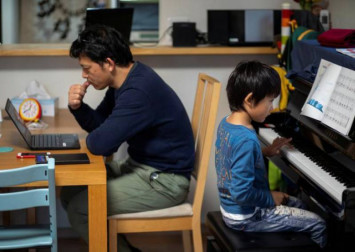 How to effectively work from home with children