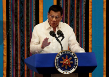 Coronavirus: 'No touch' policy for Philippine President Duterte