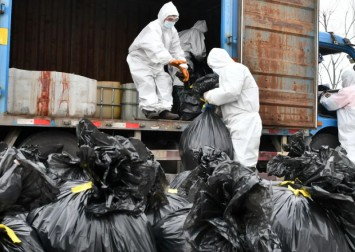 Coronavirus leaves China with mountains of medical waste