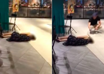 Singaporeans bash diners for ignoring woman who fainted at Clementi Mall. Here's the truth