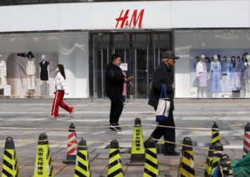 China's Big Tech erase H&M from the country's internet