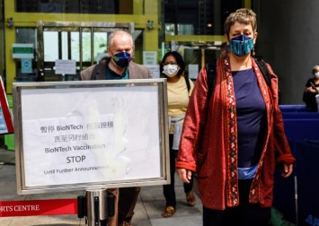 Hong Kong halts BioNTech Covid-19 vaccines, investigates packaging
