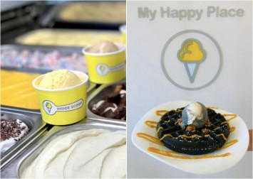 Miss cafe-hopping in JB? Malaysian ice cream cafe Inside Scoop has officially opened at North Bridge Road