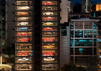 This Singapore facility is the world's largest 'vending machine' for supercars