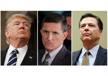 Trump asked Comey to end investigation of Michael Flynn before he was sacked