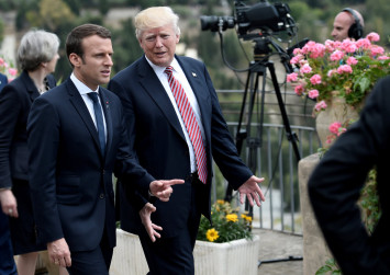 """Macron finally speaks out about the Trump handshake: """"It wasn't innocent"""""""