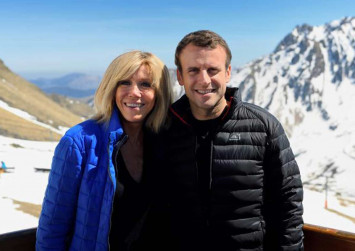 5 things to know about French President-elect Macron and his no ordinary wife