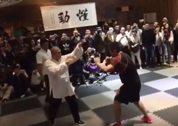 Revenge: Gongfu masters take up MMA fighter's challenge after he thrashed taiji master within seconds