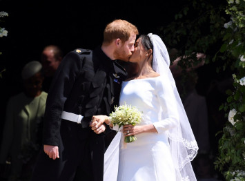 Prince Harry weds American actress Meghan Markle