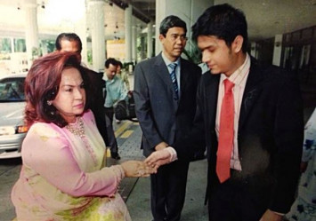 Rosmah's son-in-law: We only wanted her to accept us as family