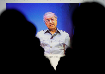 Mahathir says he may be prime minister for one-two years