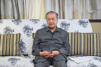 Dr Mahathir: I don't have to be admitted to hospital to gain sympathy votes