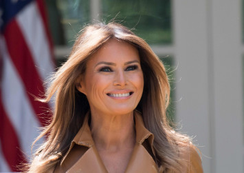 Newly assertive Melania Trump puts the first back in First Lady