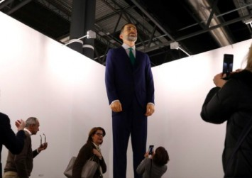 Art or show? $310k to burn down a statue of Spain's king