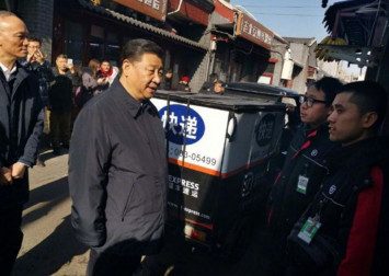 Xi Jinping surprises Beijingers with casual pre-CNY visit