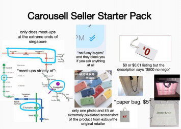 Does $0 mean free? Here are the most irritating things Carousell-ers do
