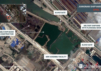 Images show construction on China's third - and largest - aircraft carrier: Analysts